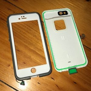 iPhone 6/6s White Lifeproof Case